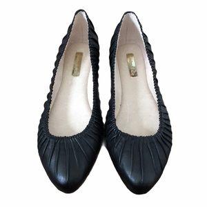 NWT Louise et Cie Ashlin leather ballet fl…